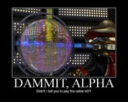 Dammit Alpha by RazorRed