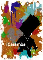 iCaramba T-Shirt design by oaklandy2009