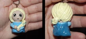 Frozen: Elsa Chibi charm / ornament by ShadyDarkGirl