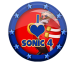 I Love Sonic 4 Badges by darkfailure