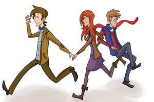Come Along Ponds by PsyDraws