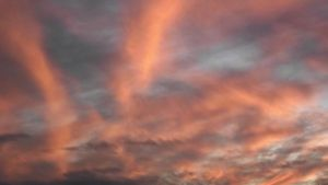 Red sky by Miroda
