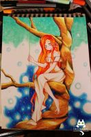 Girl in tree by PaulinaAPC
