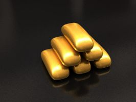Gold Nuggets by mojoB