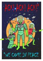 Mars Attacks by mikedaws