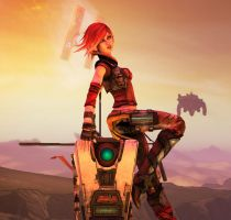 XNA Borderlands 2: Lilith by jeux422