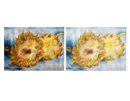 Van Gogh's Two Cut Sunflowers by DeathlySilent