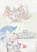 sonic help it tickles by landisthehedehog22