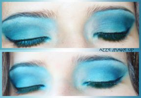 Blue make up by atteri