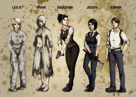 Genderbender [The Evil Within] by DHackWings