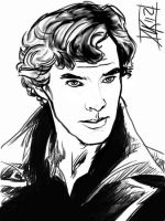 BBC Sherlock Thought by semie