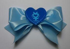 Sailor Mercury Special Hair Clip by sakkysa