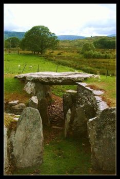 Capel Garmon Chambered Tomb 2 by Forestina-Fotos