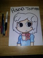 secret Santa: hana tamango - colord - by askhumanTony