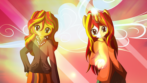 Sunset Shimmer by AntamoAnimisAN-M
