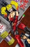 Harley Quinn: Arkham City Edition by Punch-line-designs