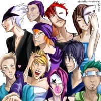 Group Colour 2 by Tengu-Arts