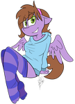 Sarah Pone Socks by BefishProductions