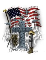 For God and Country by LeviSmithArt