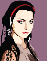 Amy Lee Coloured Version by pyraLyte
