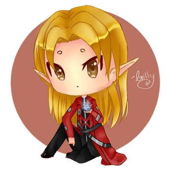 Chibi Ramza [Request] by Gilly-Fishies