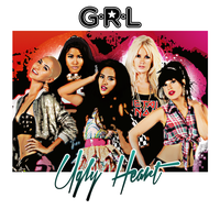 G.R.L. - Ugly Heart by ColourCrayon