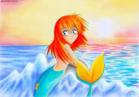 Misty mermaid by sunshineikimaru