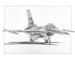 F-16C Aggressor by Raptorguy