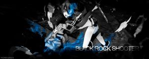 Black Rock Shooter Signature by FacundoLeites