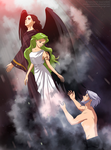 Fighting for Emerald soul by Katewind. by Gwarriorfanfic