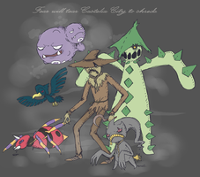 Scarecrow's Pokemon Team