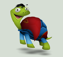 SuperTortoise by hbielen