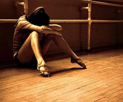 Sad- alone- tired-so ussual in ballet ... by YOKOKY