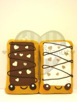 Chocolate Toaster Pastry by kickass-peanut
