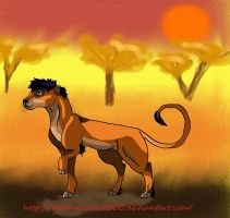 Scar in his young ages by bloodmirror2000