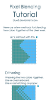 Pixel Blending + Shading Tips by BluE3
