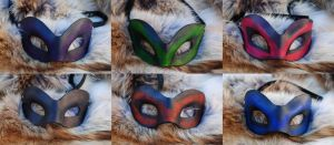 Leather Masquerade Mask Mash by Epic-Leather