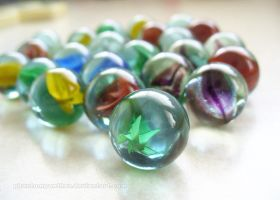 Photo - Marbles 01 by phantompanther