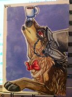 Iron Artist Challenge ACEO 21 by nightspiritwing