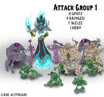 Undead Attack Group 1 by Internet-Ninja