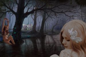 Forest Fantasy by evalunaofficial