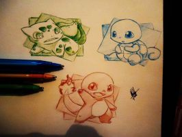 Pokemons ( Only BIC ) by naldojunio