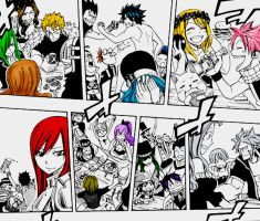 Fairy Tail - Party by LaariTonks