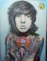 Oli Sykes by High13Voltage