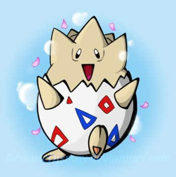 Togepi by EcstaticDismay