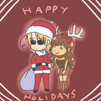 Mattiara: Merry Holidays 2014 by AskMattiara