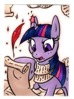 TWILIGHT SPARKLE Card by RetroStarLing
