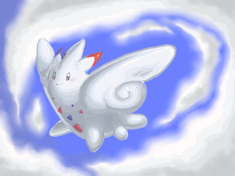 In the clouds by Tuteldove