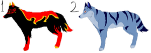Wolf Adoptables: 10 Points--CLOSED by ScottishRedWolf