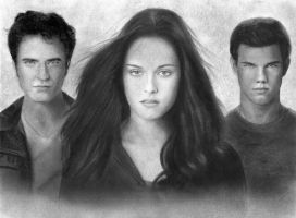 Edward, Bella, Jacob - Eclipse by Eileen9